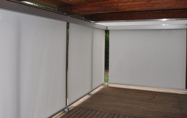 Rollersur toldo vertical tela lona vinilica for Tela de toldo impermeable
