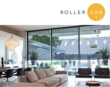 Imagen de Cortina Roller Sunscreen 10% - S20 (Tubo 40 mm) - ASISTIDO - CADENA METALICA