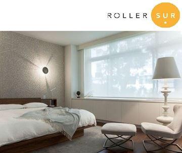 Imagen de Cortina Roller Sunscreen 14% - S20 (Tubo 40 mm) - ASISTIDO - CADENA METALICA