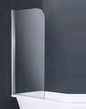Imagen de Mampara Rebatible 80x140 Cristal Transparente