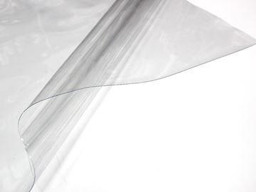 Imagen de Cortina Roller Nylon Cristal 500 micras - S10 (Tubo 32 mm) - CADENA PLASTICA