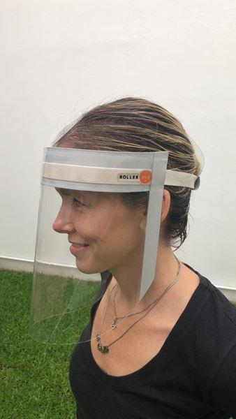 Imagen de Mascara Barbijo Proteccion Facial  x  25 unidades