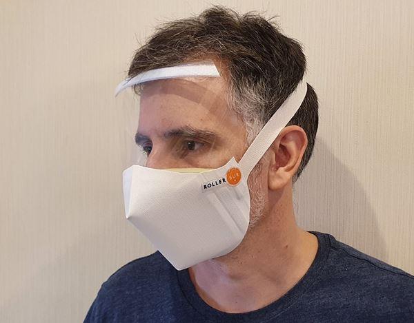 Imagen de Mascara Barbijo Proteccion Facial Ergo x 3 Unidades