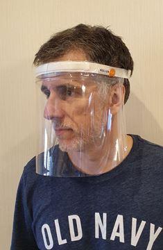 Imagen de Mascara Barbijo Proteccion Facial Eco