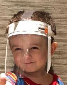 Imagen de Mascara Barbijo Proteccion Facial Junior